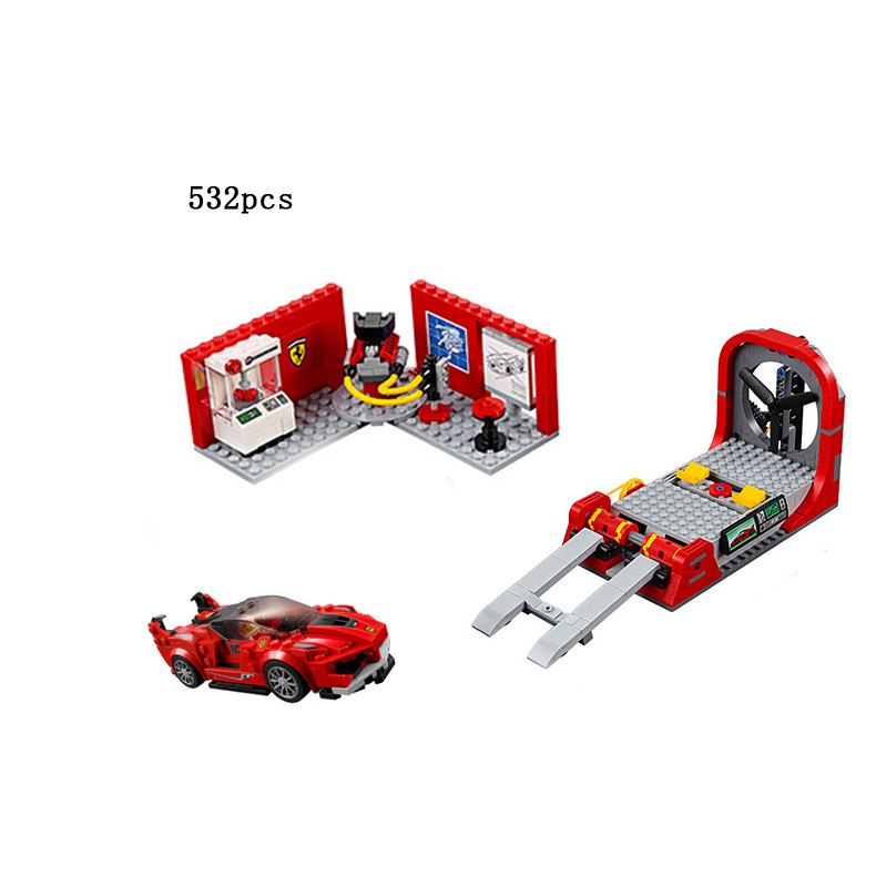 Hot Racing Italy horse logo FXX K & development center building block racer mechanic figures bricks 75882 toys for kids gifts yt0265 italy 2014 renewable energy and sustainable development falls volcano 1ms new 0521