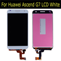 LCD Display + Touch Screen Digitizer Assembly For Huawei Ascend G7 LCD White