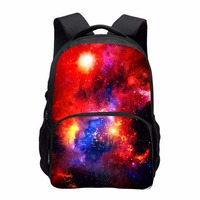 Fashion Multicolor Women Canvas Backpack Stylish Galaxy Star Universe Space Backpack Girls School Backbag Mochila Feminina