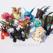 13pcs/lot How to Train Your Dragon 2 Action Figure Toys Hiccup Toothless Skull Gronckle Deadly Nadder Dragon Model Dolls