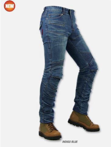 Pantalones komine pk718 motocicleta motocross moto kevlar jeans denim pantalones de jean con 4 protector pad s-3xl