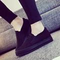 Платформа Женская Обувь Мода Толстым Дном Женщин Повседневная Обувь Черный Красный Твердые Квартиры Ленивый обувь Размер 35-40