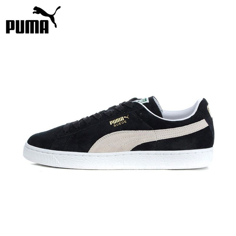 New Arrival Official PUMA Suede Classic Hard-Wearing Men's Skateboarding Shoes Sports Sneakers Classique Comfortable original new arrival 2018 puma suede classic unisex s skateboarding shoes sneakers