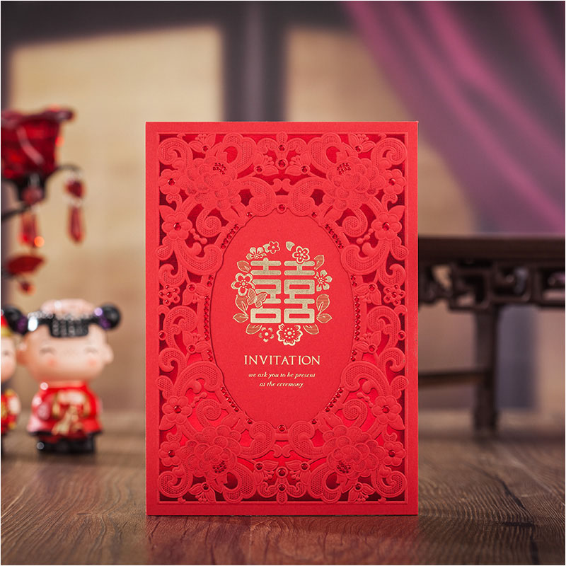 Online Get Cheap Cheap Wedding Invitation Aliexpress – Cheap Red Wedding Invitations