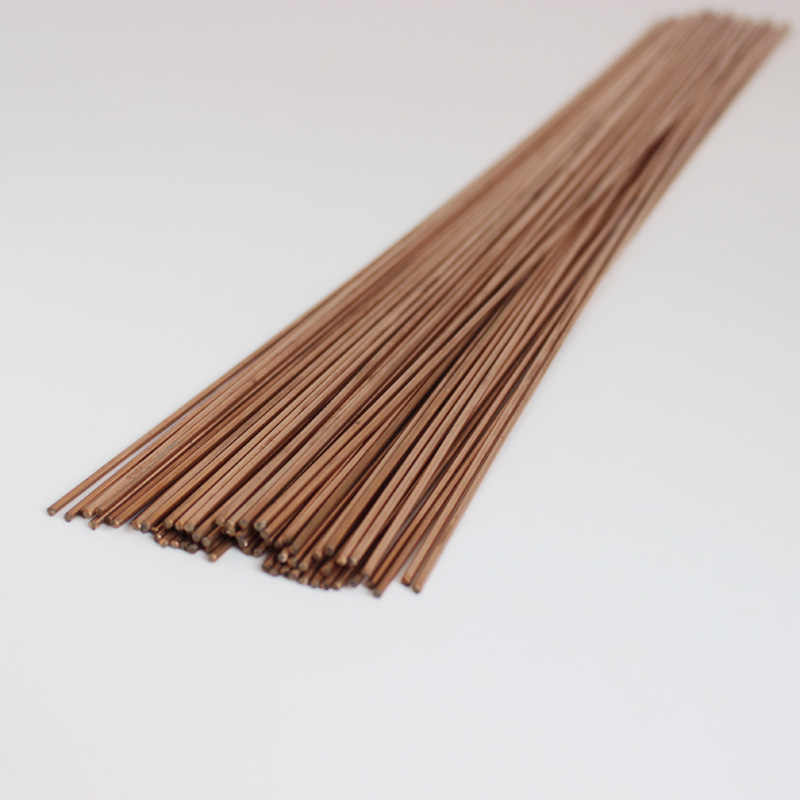 Welding Rod Round Phosphor Copper Welder Consumables for Air Conditioner Refrigerators 20Pcs wosume Welding Rod