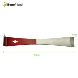 Image 2 - Benefitbee Strumenti di Apicoltura Bee Hive Strumenti Miele S per Per La Pulizia Raschietto Rosso 26 cm Beehive Attrezzature Apicoltura Apicoltore