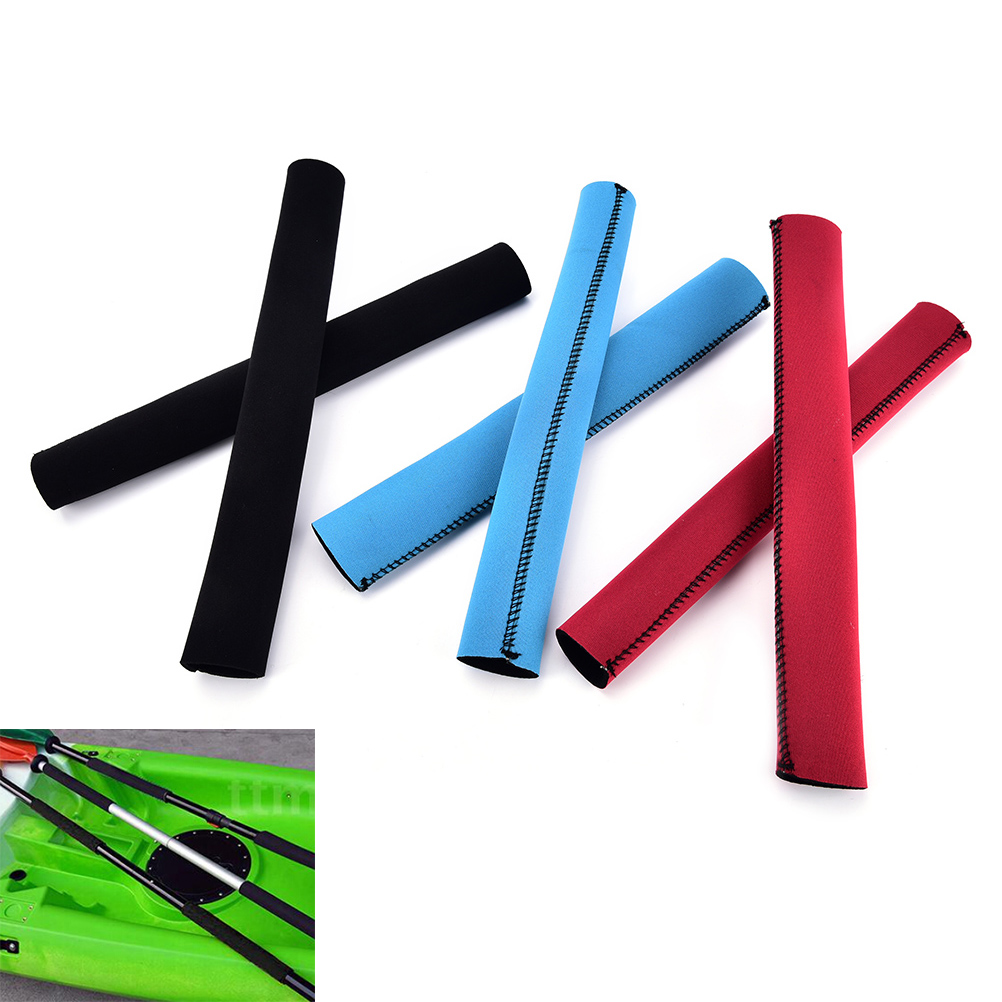 2 PCS=1 Pair Paddle Grips Soft Antiskid Kayak Paddle Grips Protect Paddle Shaft Prevent Blisters&Callus Efficient Paddling