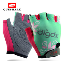 Breathable Children Cycling Gloves Bicycle Riding MTB Mountain Road Bike Gloves Kids Boys Girls Sports Gloves