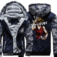 For Fans Japanese Anime One Piece Luffy 2018 Hoodies Men Sudaderas Hombre Hip Hop Funny Fashion