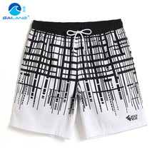 Men's New summer Bathing suit swimsuit Board shorts joggers swimming trunks hawaiian liner beach shorts briefs mesh(China)
