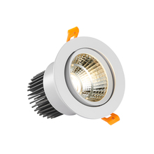 Cob Led Downlight 7w 10w Dimmable Led Recessed Ceiling Spot Light work with PWM Dimmer AC/DC24V Led Cob Down Light UL CE