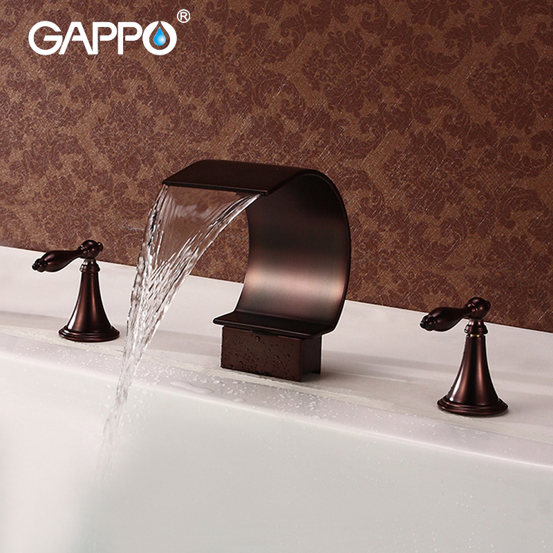 GAPPO Basin Faucet basin mixer tap waterfall bathroom shower faucets bathroom water mixer Deck Mounted Faucets taps gappo basin faucet basin tap waterfall bathroom mixer shower faucets bath water mixer deck mounted faucets taps