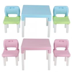 Childrens Kids Plastic Table Chair Set Learning Studying Desk for Home  Learning Desk Writing Homework Chair Combination