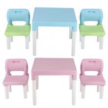 Dzieci dzieci plastikowy stół zestaw krzeseł nauka nauka biurko do domu biurko do nauki pisanie praca domowa krzesło połączenie
