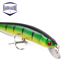Купить с кэшбэком Minnow Fishing Lures 10cm 8.3g Artificial Hard Bait 3D Eyes Diving Swimbaits Crankbait Wobblers Fishing Hard Bait Plastic Tackle