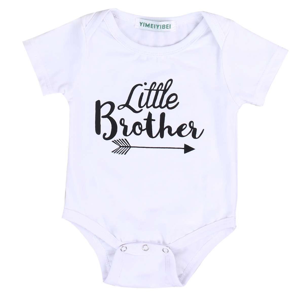 0-18M Newborn Baby Boys Clothes Short Sleeve   Romper   Deer Long Pants Little Brother Outfits Kids Clothing Set