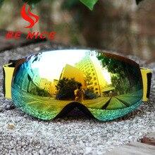 BE NICE children font b snowboards b font high coverage ski goggles snow font b glasses