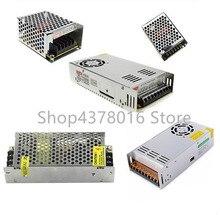 Adaptador de controlador de fuente de alimentación, tira de luz LED, CA 110V 220V a cc 5V 12V 24V 1A 2A 3A 5A 10A 15A 20A 30A 50A