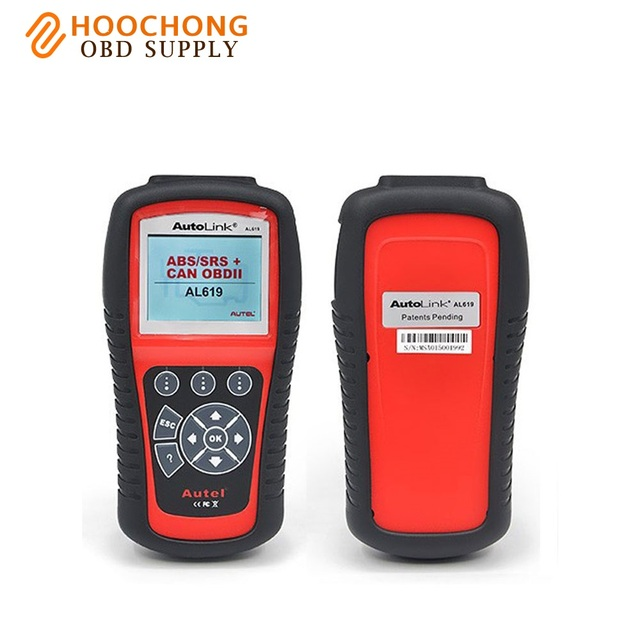 US $129 0 |Autel Autolink AL619 Diagnostic Scan Tool ABS SRS Reset Check  Engine Light Auto Codes Reset-in Code Readers & Scan Tools from Automobiles  &