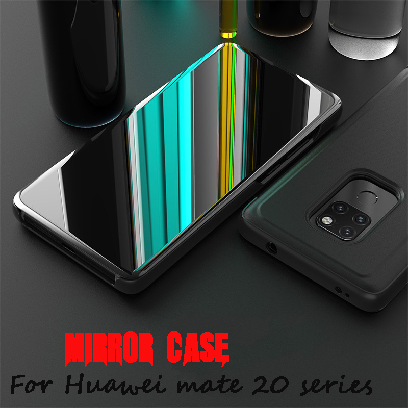 Smart-View-Mirror-Case-for-Huawei-Mate-20-Pro-Cover-Clear-Leather-Flip-Case-for-Huawei (2)