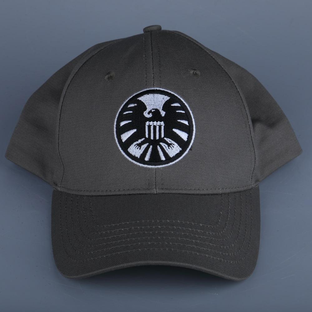 New Captain Marvel Carol Danvers Caps Unisex Adjustable Hip Hop Sun Hat Snapback Agents of S.H.I.E.L.D. Shield Baseball Caps (14)