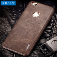 For Huawei Nova Lite Case X Level Vintage Cowboy Soft Luxury Leather Phone Back Protective Shell