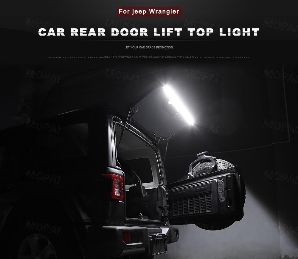 Tailgate Glass Lift Door Light LED Lamp