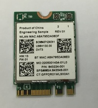 SSEA SSEA New for Broadcom BCM94371ZAE 802.11 AC NGFF M2 Card 867Mbps Wireless WiFi Bluetooth 4.1 SPS 843549-001