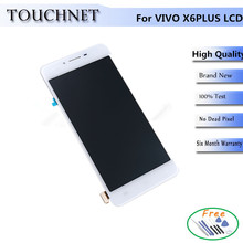 1280×720 Pixel  Touch Screen Digitizer Smartphone Replacement For VIVO X6 PLUS LCD Display