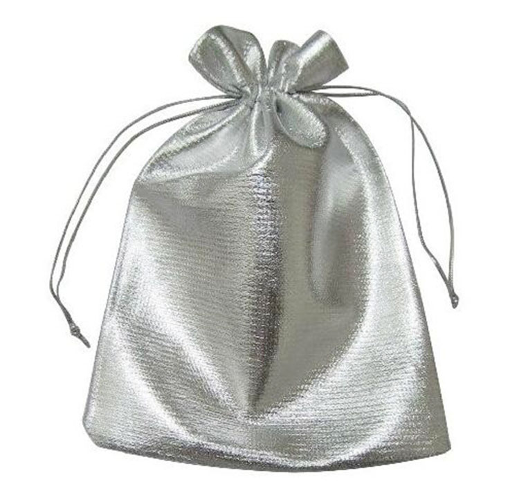 Us 10 21 31 Off 100pcs 9 12cm Silver Bags Woman Vintage Drawstring Bag For Wed Party Jewelry Christmas Gift Diy Handmade Pouch Packaging Bag In Gift