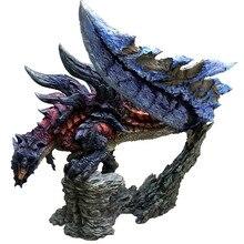 Японский Glaivenus Dinovaldo Дракон ПВХ модель комплект игрушка 20 см Высота Монстр Охотник раталос Ember arc лезвие фигурки