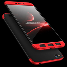For Xiaomi Redmi 5A Case 360 Degree Full Body Hard Cover Case For Xiaomi Redmi 5A Hybrid Shockproof Case With Tempered Glass for xiaomi redmi note 5a pro case 360 degree full body cover case for redmi note 5a pro shockproof case with tempered glass