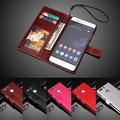 """Luxo Capa de Couro PU Para Huawei P9 Além Disso Dupla P 9 Plus Caso 5.5 """"virar Tampa Do Telefone de Volta de Proteção Da Pele"""
