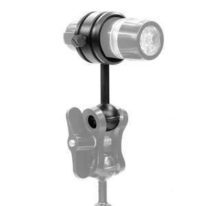 Image 3 - Camera Duiken Handheld Licht Arm Onderdelen Ball Hoofd Zaklamp Clip DSLR Sport Camera Onderwater Fotografie Accessoires