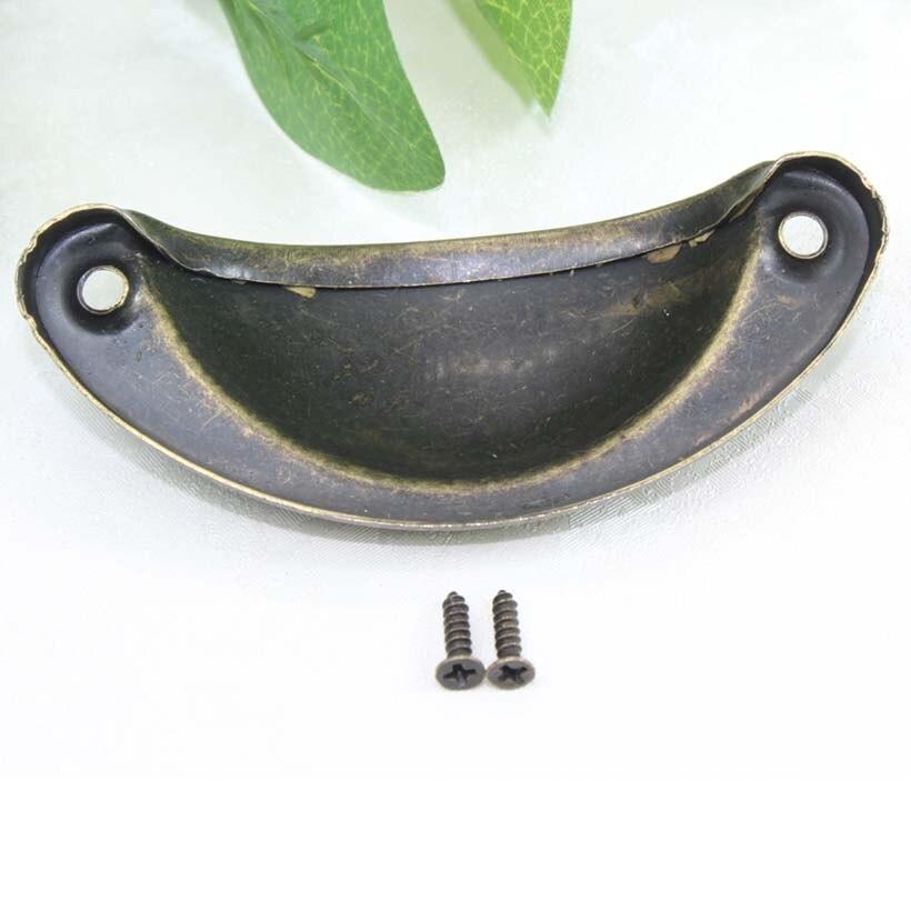 Gute billiger antike messing schale Ziehen drawer knob bronze ...