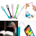 1pcs Mini USB LED Light Lamp For Notebook + Data Cable USB Cord Charger For Android