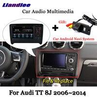 Liandlee автомобиля Android Системы для Audi TT 8J 2006 ~ 2014 Стерео Радио DVD ТВ Carplay Камера gps Navi навигации BT Экран мультимедиа
