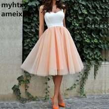 Женское Короткое свадебное платье it's yiiya белое и Коралловое