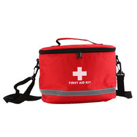Sports Camping Home Medical Emergency Survival First Aid Kit Bag For Outdoor 28 19 20cm Hot