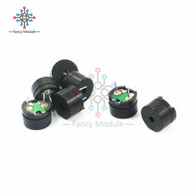 Black Plastic 5Pcs 5V Passive Buzzer Acoustic Component MINI Alarm Speaker Passive Electronics DIY Kit For Arduino Piezo(China)