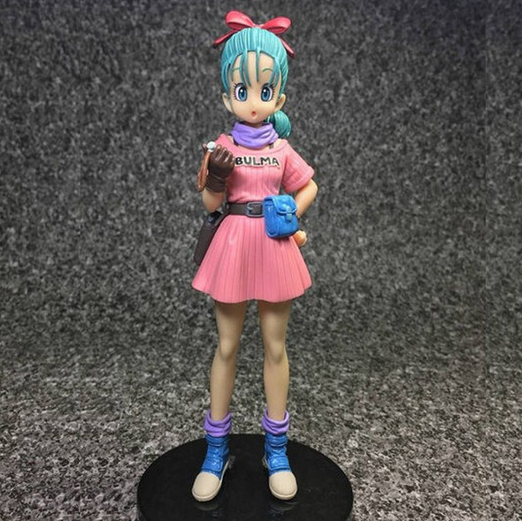 NEW hot 15cm Dragon Ball Buruma Bulma Action figure toys doll collection Christmas gift with box new hot 20cm hyperdimension neptunia purple heart action figure toys collection doll christmas gift with box