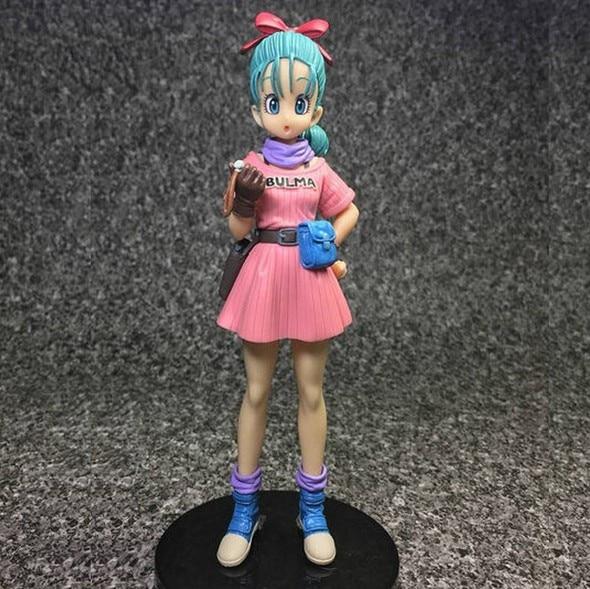 NEW hot 15cm Dragon Ball Buruma Bulma Action figure toys doll collection Christmas gift with box