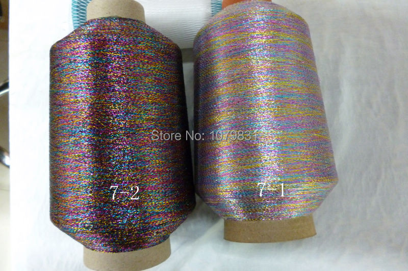 free shipping special effect metallic knitting yarn for knitting clothes high shine metallic yarn