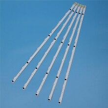 9 lâmpadas led backlight strip para samsung ue32f6270ss ue32f6330ak ue32f6800sb ue32f6670sb ue32f6510ss kit barras de televisão led banda