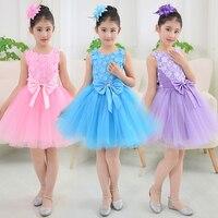 Cute Ballet Tutu Dancewear For Girls Clothes Dancing Dresses Costumes Toddler Leotard Professional Tutus Ballerina Dress Kids