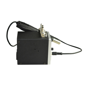 Image 2 - Lead free SMD Soldering Station LED Digital Solder Iron Hot Air GUN Blowser Eruntop 858D 858d+