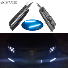 цена на 2Pcs 9LED DRL Daytime Running Light For Chevrolet Cruze 2009 2010 2011 2012 2013 2014 LED Driving Lamp with Turn Signal Light
