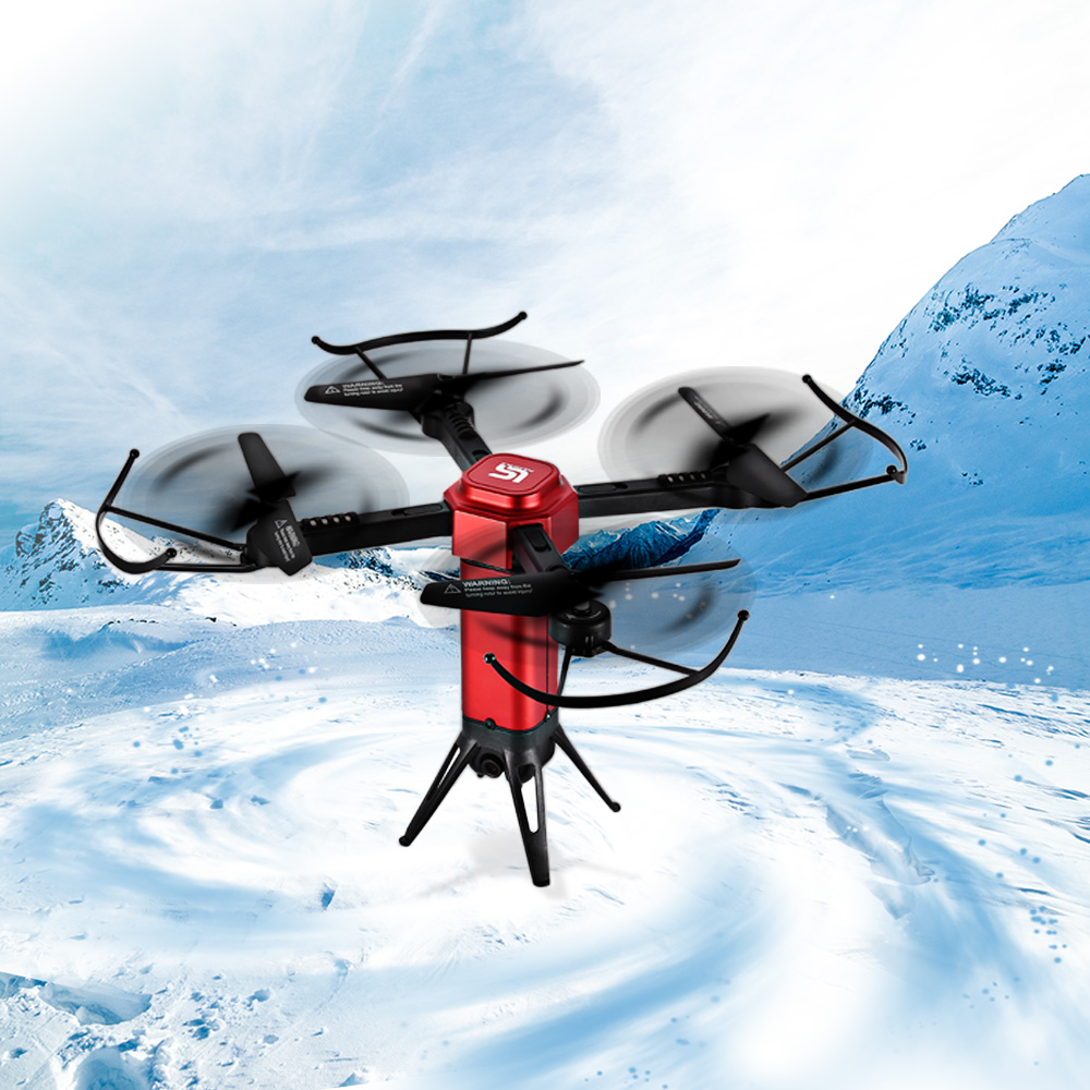 Foldable RC Quadcopter WiFi <font><b>FPV</b></font> Camera Drone <font><b>Dron</b></font> <font><b>FPV</b></font> Real-Time Transmission Drones Altitude Hold Headless Mode Aircraft RC Toys image