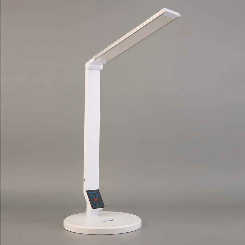 dimmable led desk lamp usb table lights reading study. Black Bedroom Furniture Sets. Home Design Ideas