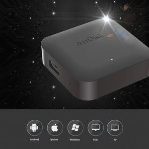 "Image 1 - Airdisk q2 모바일 네트워크 하드 디스크 usb2.0 2.5 ""홈 스마트 네트워크 클라우드 스토리지 다중 사람 공유 모바일 하드 디스크 박스"